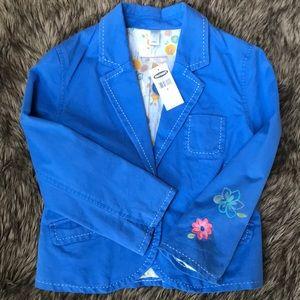 Old Navy Embroidered Blazer/Crop Jacket Size S